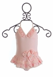 Isobella and Chloe Pretty in Pearls One Piece Bathing Suit
