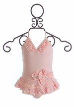 Isobella and Chloe Pretty in Pearls One Piece Bathing Suit (2T,4,5,8)