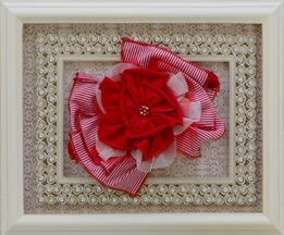 Isobella and Chloe Red Cherry Pie Headband