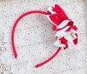 Isobella and Chloe Red Star Flower Headband