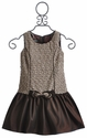 Isobella and Chloe Sleeveless Drop Waist Dress for Girls