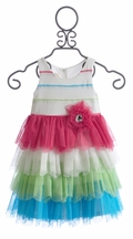 Isobella and Chloe Special Occasion Girls Dress (3Mos & 6Mos)