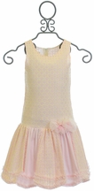 Isobella and Chloe Spring Dress in Light Pink