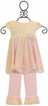 Isobella and Chloe Tunic Set Darling Demure