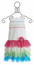 Isobella and Chloe Tutti Frutti Girls Party Dress (12Mos,18Mos,24Mos)