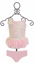 Isobella and Chloe Tutu Tankini in Light Pink