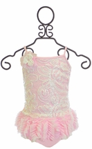 Isobella and Chloe Wink for Pink One-Piece Swimsuit (3T,4T,4)