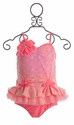 Isobella & Chloe Coral Tankini for Girls