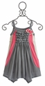 Isobella & Chloe Cute as a Button Girls Dress (Size 8)