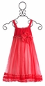 Isobella & Chloe Raspberry Limeade Girls Elegant Dress