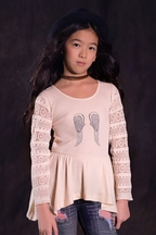 Jak and Peppar Angel Wings Top Ivory