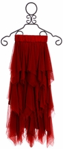 Jak and Peppar Ballet Maxi Skirt in Berry
