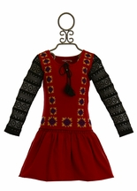Jak and Peppar Days on Fire Tunic Red (2T,3T,4,6X)