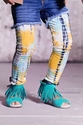 Jak and Peppar Dazed and Confused Girls Leggings in Yellow