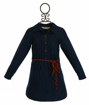 Jak and Peppar Ember Tunic Dress Denim (2T,3T,4T,4,6,7,12)