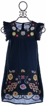 Jak and Peppar Flower Child Dress for Girls