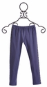 Jak and Peppar Girls Basic Leggings in Navy Bean (14 & 16)