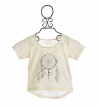 Jak and Peppar Girls Crop Top Vanilla Dream Catcher