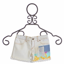 Jak and Peppar Girls Cutoffs Shabby Chic (6,6X,12,14)