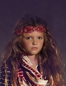 Jak and Peppar Girls Headband in Red Empress