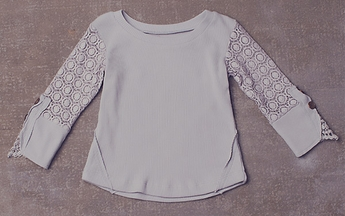 Jak and Peppar Girls High End Top in Gray