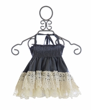 Jak and Peppar Girls Laney Skirt in Gray