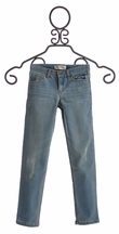 Jak and Peppar Girls Skinnies in Medium Wash Peppar Boyfriend (Size 8)