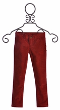Jak and Peppar Girls Skinny Corduroys in Red (4T,5,14,16)