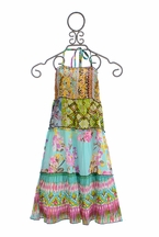 Jak and Peppar Girls Woodstock Maxi in Garden Multi (6,6X,7,8)