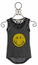 Jak and Peppar Happy Lacey Days Top for Girls (4,6X,7,10)