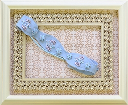 Jak and Peppar Headband for Girls Spa Blue Empress