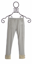Jak and Peppar Janey Leggings for Girls in Charcoal (Size 10)
