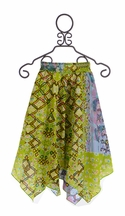 Jak and Peppar Josefine Tween Skirt in Pea Lime