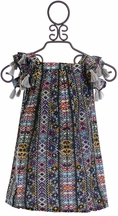 Jak and Peppar Larkin Dress in Multi Print