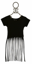 Jak and Peppar On The Fringe Tank Top Black
