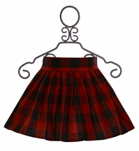 Jak and Peppar Red Plaid Skirt Prima Donna