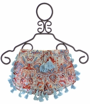 Jak and Peppar Shorts with Tassels Spa Blue Berry (5,6,6X,14)