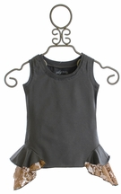 Jak and Peppar Tea Time Tank with Lace (Size 7)