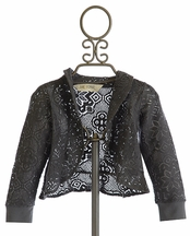 Jak and Peppar Trellis Lace Jacket (4,5,6,6X)