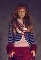 Jak and Peppar Tween Top for Girls in Red Lace