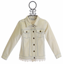 Jak and Peppar Whitewashed Jacket (3T,4,6,6X,7)