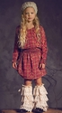 Jak & Peppar Red Hudson Tween Dress