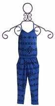 Joah Love Girls Aztec Jumpsuit