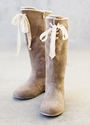 Joyfolie Brown Suede Boot for Girls