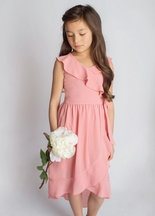 Joyfolie Carly Dress Coral (2 & 3)