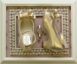 Joyfolie Gemi Peep Toe in Gold