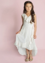 Joyfolie Girls Ruffle Dress Carly (Size 4)