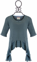 Joyfolie Girls Top Dylan in Teal