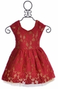 Joyfolie Josefine Dress for Girls in Red (3 & 7)