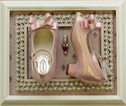 Joyfolie Pink Shoes with Bow Gemi